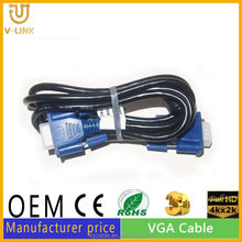 Top selling VGA 3+5 Cable 1m vga scart adapter for Hometheater Video projector