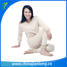 Long Sleeve Women Tourmaline Thermal Therapy Long Johns Set