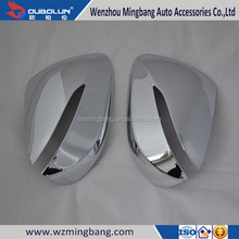 HOT SELL! ABS Chrome Door Mirror Cover Review Mirror Cover For 2013 IX45 New Santa Fe Hyundai Car Accessories