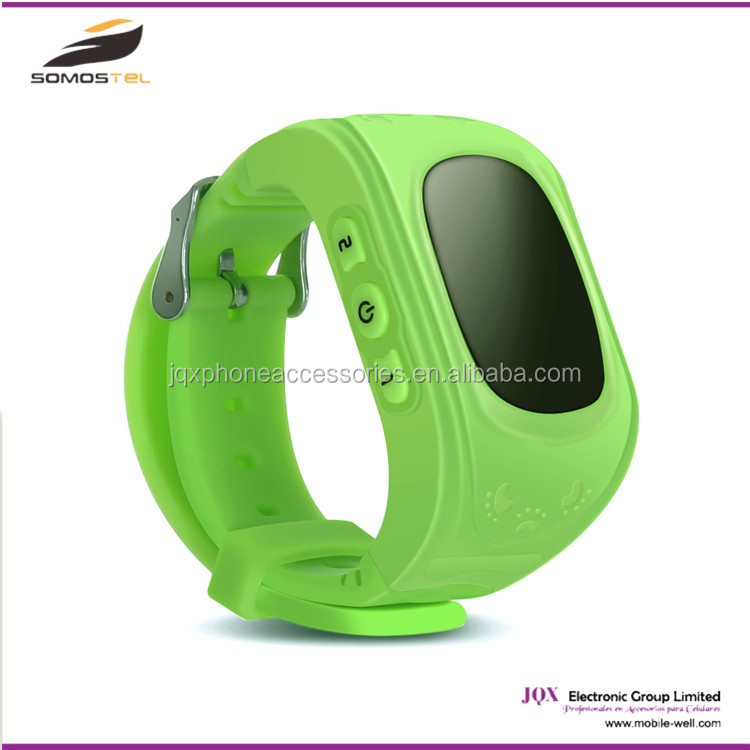 [somostel] android children gps tracker smart watch phone, wrist gps tracking device for kids