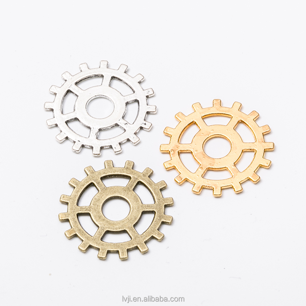 Wholesale Vintage Steampunk Gear Pendant DIY SteamPunk Jewelry