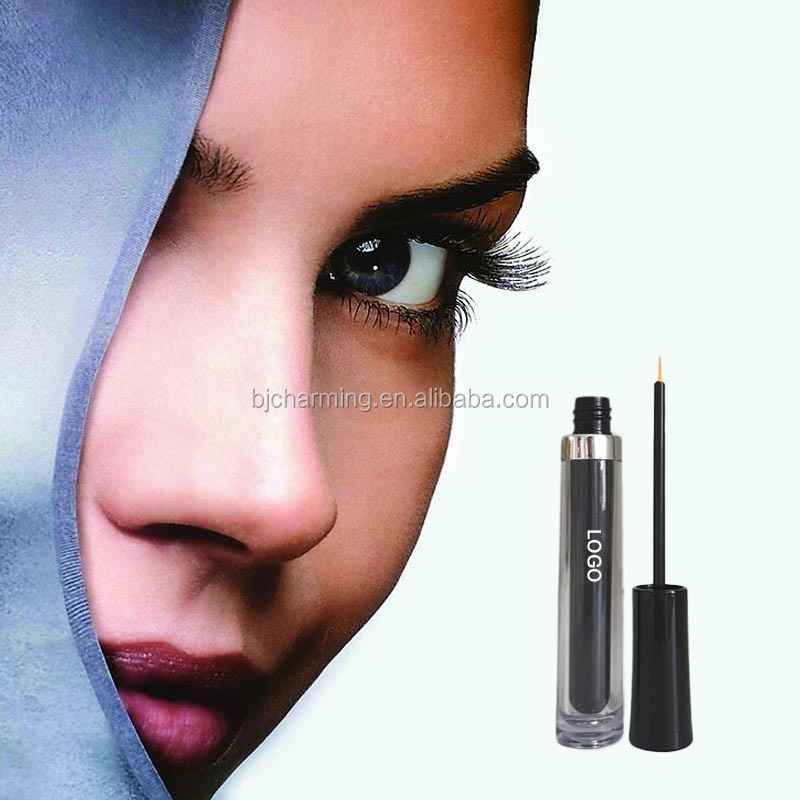 Organic eyelash serum for you own brand makeup eyelash growth liquid