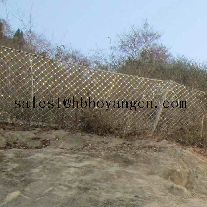 Slope Protection Wire Mesh For Preventing Of Rock Breaking Wire Mesh Fence For Boundary(Boyang factory)