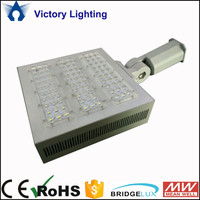100W 150W Outdoor IP65 Bridgelux Solar Led Street Light Price for Square Parking lot