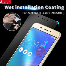 Nano wet installation liquid film full coverage screen protector for ASUS Zenfone 3 Laser