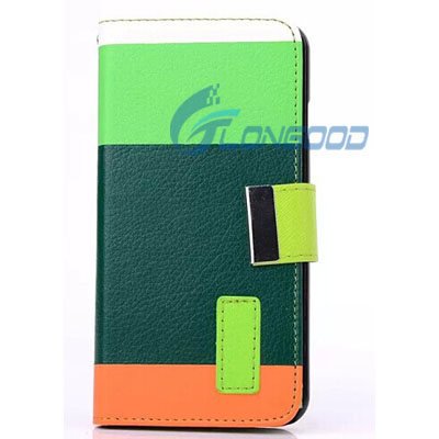 Wholesale Colorful PU Leather Back Case for iPhone 6 4.7'' (IP6-016)