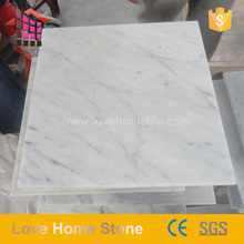 Italian Bianco Carrara White Marble Floor Tile 300x300 12x12 Competitive Price
