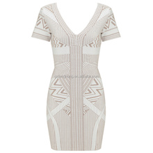 Wholesale Hot sale cheap backless bandage dresses rayon bodycon ...