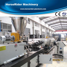 pvc water screen pipe/pvc pipe testing equipment /electric pvc pipe machine