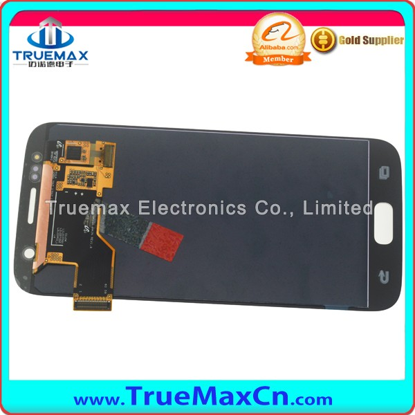 Alibaba China Spare Parts Display for Samsung Galaxy S7 LCD Touch Screen Digitizer Assembly