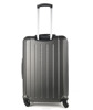 Latest design cheap abs luggage trolley bags DC--7123