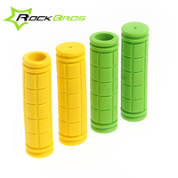 RockBros Colorful Cycling MTB Grips Rubber Handlebar Grips Bicycle Components Soft Anti-skidding Grips