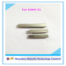 side Volume Key Button + Mute Switch + Power On Off for Apple sony z1