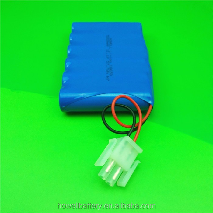 Hot Sale Rechargeable Battery 11.1V 5200mAh 18650 Lithium Ion Battery Pack