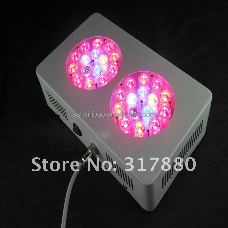 promote flowering houseplants led grow light wholesale Wavelengths: Red, Blue,white, orange,green plant lighting