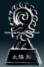 Crystal Award Custom Engraved Corporate Gift Trophy