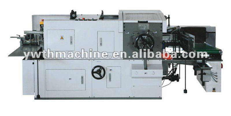 320*240mm Automatic Book Cover Gate Folding Trimming Binding Machine
