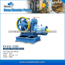 Torin VVVF Elevator Geared Traction Machine Motor NV41G-F200