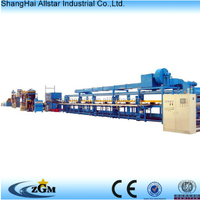 sandwich panel production line machine/ rock wool sandwich panel production line