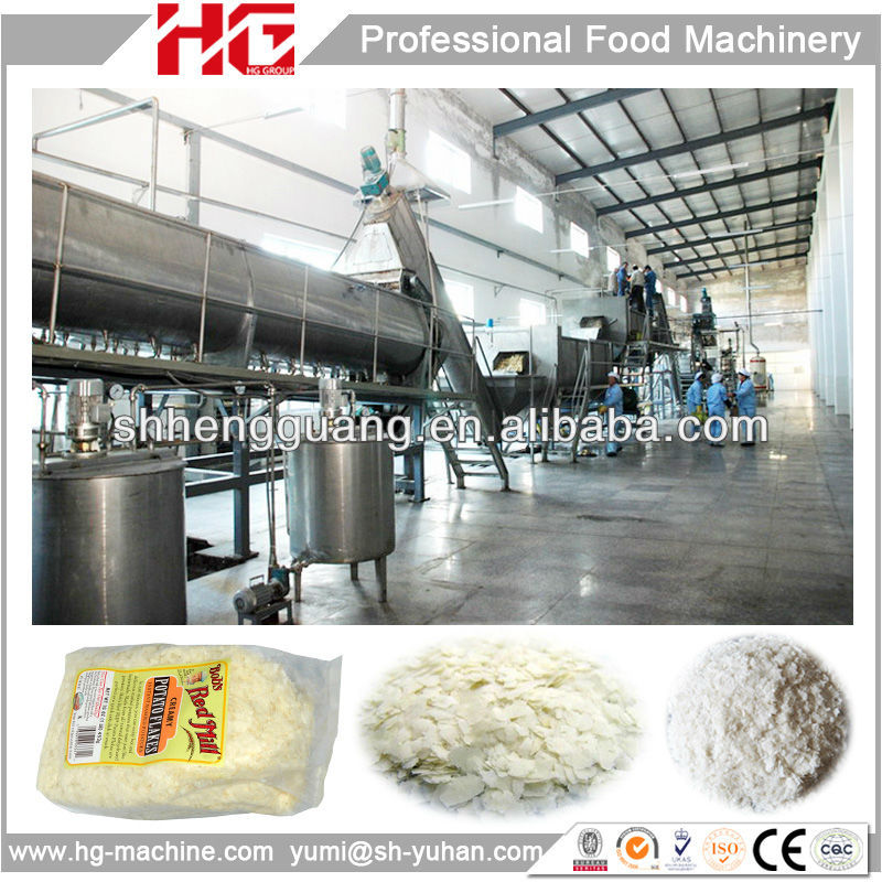 high technology turn key potato flakes production line