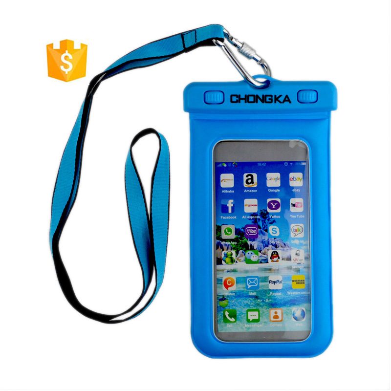 Mobile phone accessories factory in China waterproof beach bag