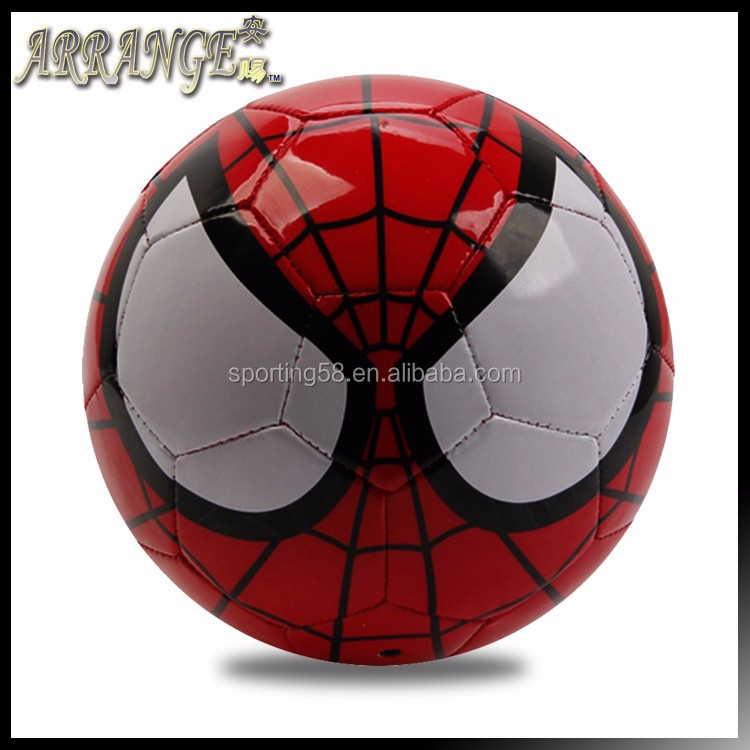 Small Size two ACFB0112P2105 Red leather pvc foam eva animal pattern gift present ball soccer football
