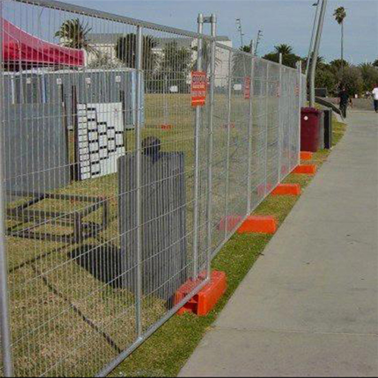 Cheap temporary portable movable fence for temporary event