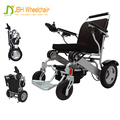 CE approved lightweight foldable electric wheelchair for disabled people