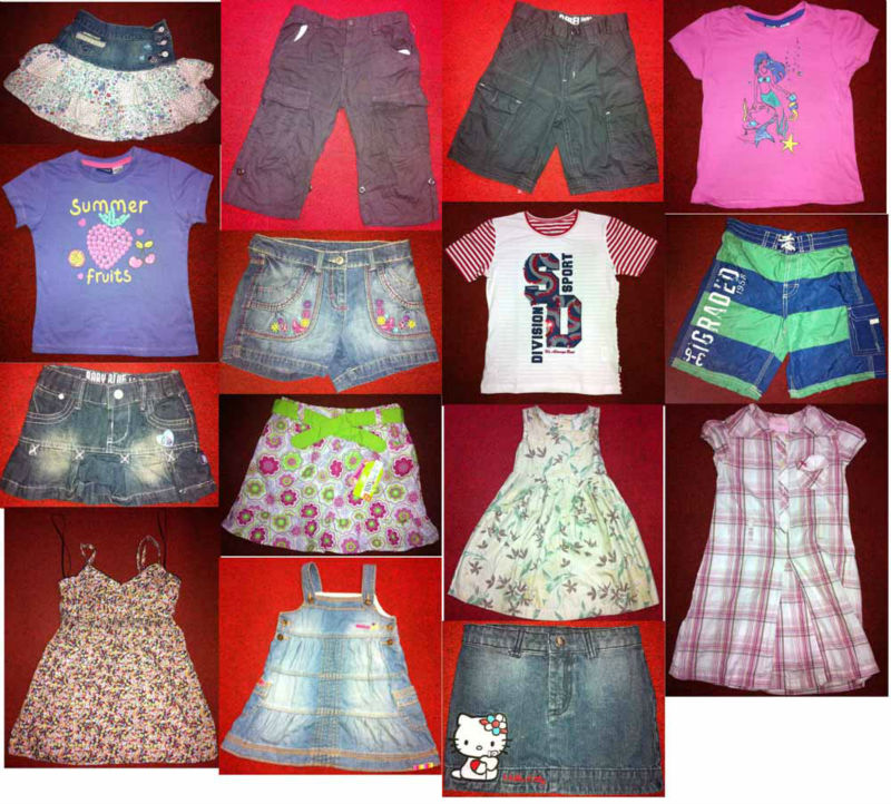 CHILDREN CLOTHING MIXED STYLE