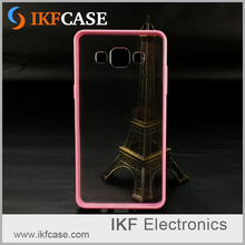 Case for Samsung Galaxy S3 Mini Protective Transparent Slim Case TPU Bumper + Acrylic Anti-Shock Mobile Phone Cover