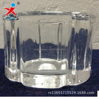 Machine pressed glass chimney Ceiling lamps and lanterns of the glass processing customized