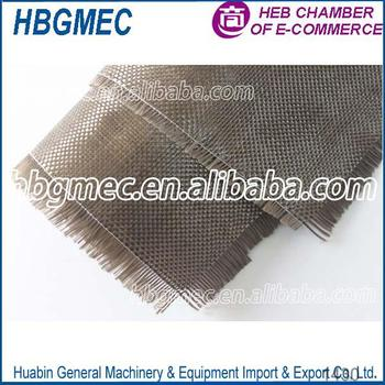 Smooth Surface Treatment Twill basalt fabric supplier in USA