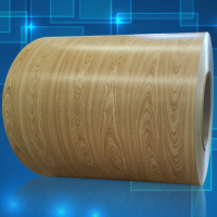 Designed roofing material wood pattern PPGI
