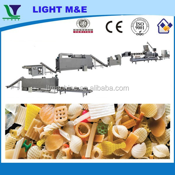 Automatic Fried Extrusion Food 3D Pellet Snacks Production Line