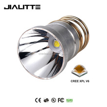 Jialitte F060 Powerful 2000 Lumens 3.7V-8.4V CREEs XPL V6 10W LED Blub Reflector for 501B 502B Flashlight