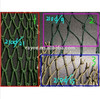 purse seine fishing net,nylon fishnets scrap,210D/3PLY,9PLY green fishing the nets with float