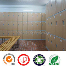 Big Basketball Stadium Player Lockers