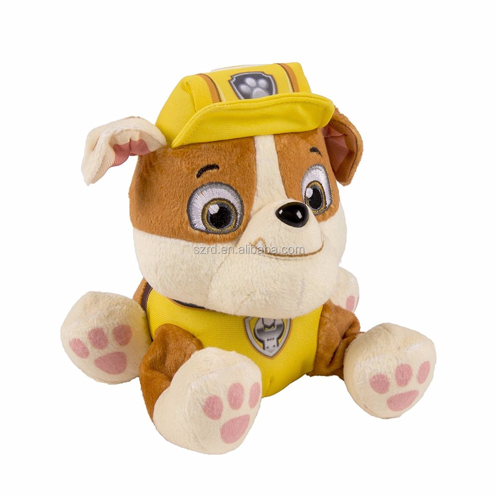 Nickelodeon Plush Pup Pals- Rubble/plush toy for kid/high quality plush animal toy