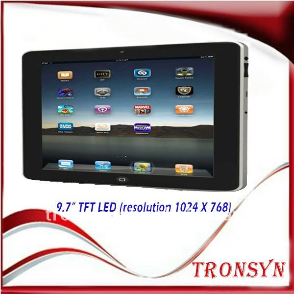 "9.7"" android tablet pc"