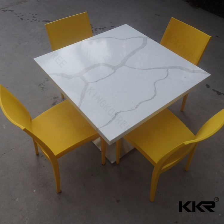 Artificial Stone Table tops / Restaurant tables and chairs
