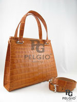 Crocodile Belly Luxury Handbag