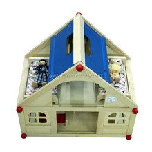 SL-DB054 Wooden educational toys wooden doll house for kids