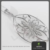 Import from China Guangzhou Jewellery Market 3a Cubic Zirconia Necklace