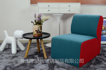 Modern cashmere furniture L shape leisure sofa for living room