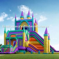 cheap outdoor huge events castle inflatable bounce house for kids and adults