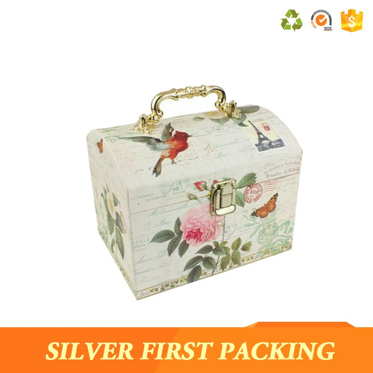 Elegant Wedding accessories greeting card treasure box envelope gift cards storage boxes