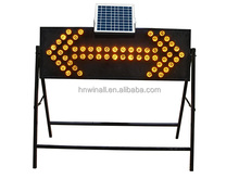 Construction Solar Traffic Arrow LED light