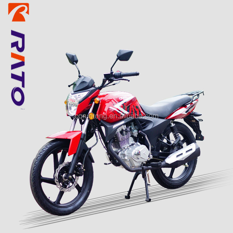 Cheap and high quality Chinese brand RATO 150cc racing motorcycles wholesale