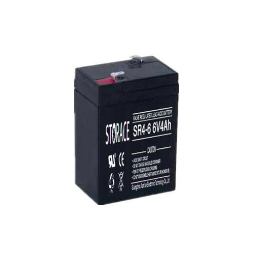 Sealed Lead Acid Battery 6v 4ah storage small battery with 6 volt