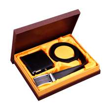 2016 Exquisite workmanship custom leather business gift set executive